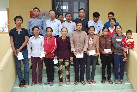CC1 ung ho nguoi dan vung lu Quang Binh va Ha Tinh hon 600 trieu dong - Anh 1