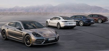 Porsche Panamera 2017 se co them ban truc co so dai Executive - Anh 1