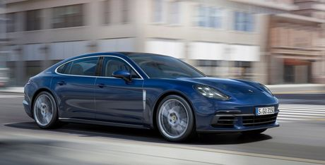 Porsche Panamera 2017 se co them ban truc co so dai Executive - Anh 2