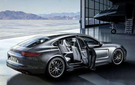 Porsche Panamera 2017 se co them ban truc co so dai Executive - Anh 3