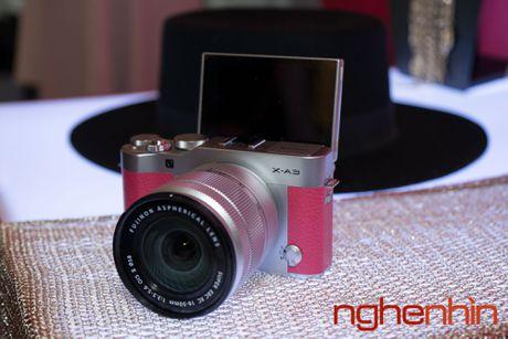 May anh mirrorless Fujifilm X-A3 len ke Viet gia 14 trieu - Anh 2