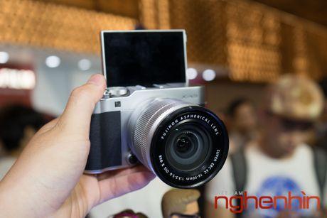 May anh mirrorless Fujifilm X-A3 len ke Viet gia 14 trieu - Anh 7