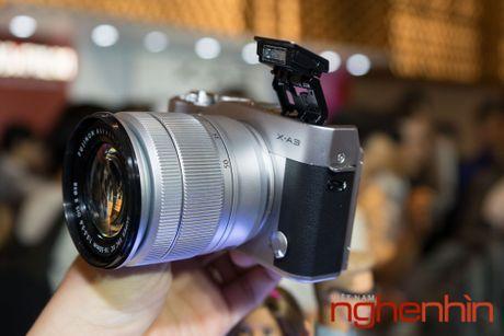 May anh mirrorless Fujifilm X-A3 len ke Viet gia 14 trieu - Anh 8