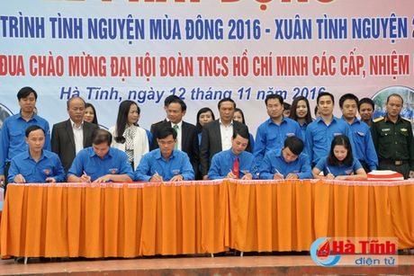 Phat dong tinh nguyen mua dong 2016 - Xuan tinh nguyen 2017 - Anh 3