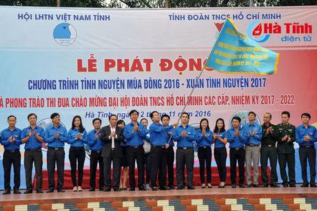 Phat dong tinh nguyen mua dong 2016 - Xuan tinh nguyen 2017 - Anh 4