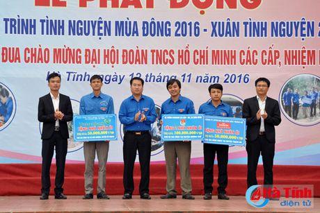 Phat dong tinh nguyen mua dong 2016 - Xuan tinh nguyen 2017 - Anh 7