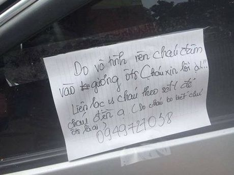 Nam sinh viet loi xin loi tren kinh xe gay sot mang xa hoi - Anh 1