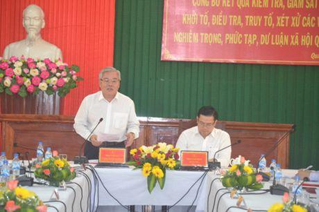 Kiem tra, giam sat, don doc cong tac PCTN tai Quang Ngai - Anh 1