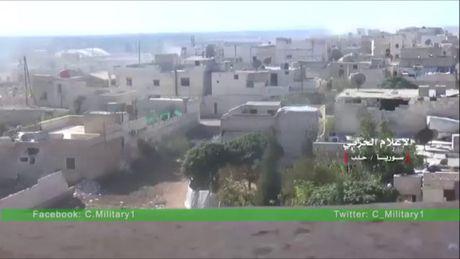Chum video chien su Aleppo: Quan doi Syria de bep phien quan, chiem quan Minyan - Anh 1