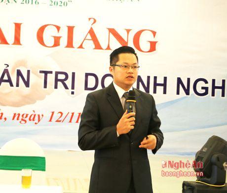 Boi duong ky nang cho 200 lanh dao doanh nghiep - Anh 2