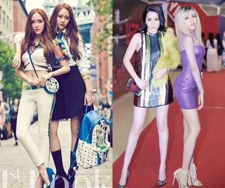 Di tim nhung cap chi em Jessica - Krystal phien ban Viet - Anh 1