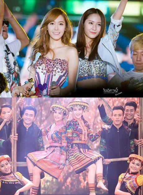 Di tim nhung cap chi em Jessica - Krystal phien ban Viet - Anh 4