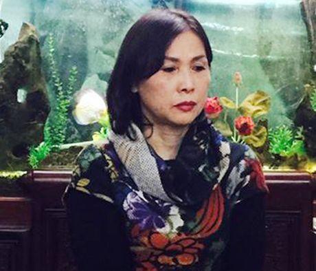 Ha Noi: Bat nu giam doc khai thac cat trai phep tren song Hong - Anh 1