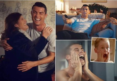 Ronaldo 'o nha mot minh' - Anh 1