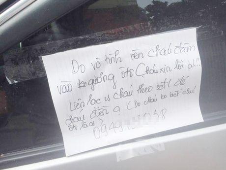 Nam sinh 'chat' Hai Phong gay sot voi tam giay: 'Xin loi, xin den guong' - Anh 1