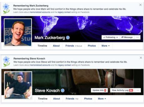 Mark Zuckerberg cung 2 trieu nguoi dung bi Facebook tuyen bo 'chet' - Anh 1