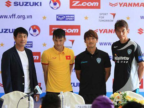 Viet Nam-Avispa Fukuoka: Cong hien va tinh than Nhat - Anh 1