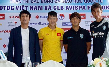 Tuyen Viet Nam - CLB Avispa Fukuoka: Bai kiem tra cuoi cung - Anh 1