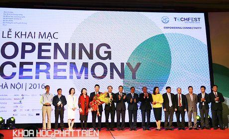 Khai mac Techfest 2016 - ngay hoi lon cua khoi nghiep sang tao - Anh 1