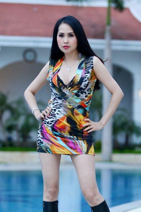 Hinh anh nong bong mat cua Minh Thu 'Gai nhay' - Anh 1