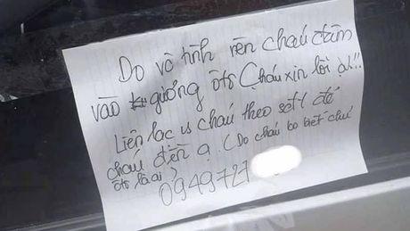 Dam vo guong xe, hanh dong cua nam sinh khien dan mang khen het loi - Anh 1