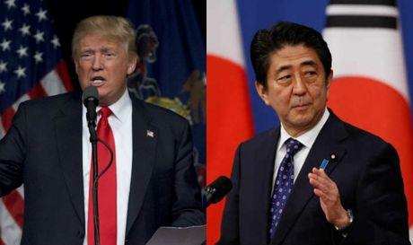 Ong Trump 'di dem' voi Nhat Ban, ban muu chong Trung Quoc? - Anh 1