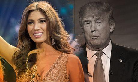 Hoa hau Philippines muon lam viec cho tong thong Donald Trump - Anh 1