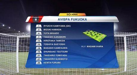 TRUC TIEP Viet Nam 0-0 Avispa Fukuoka: Van Toan dut diem chech cot doc (Hiep 2) - Anh 2