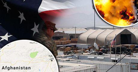 Xay ra no o can cu khong quan NATO tai Afghanistan - Anh 1