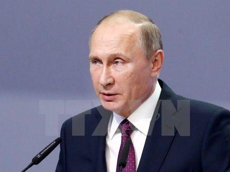 Tong thong Putin khang dinh quan doi Nga khong de doa bat cu ai - Anh 1
