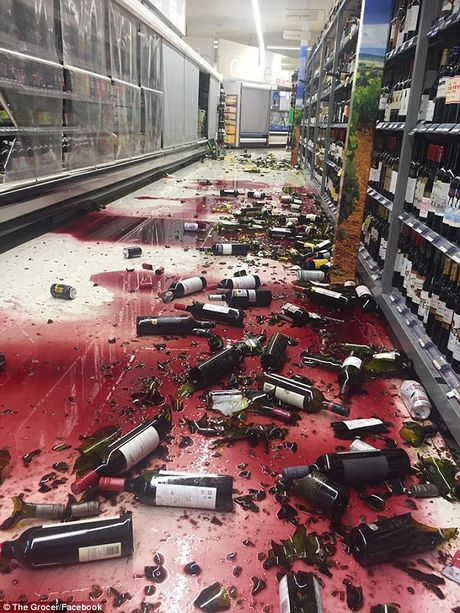 Khung canh dang so o New Zealand sau tran dong dat manh 7,8 do Richter - Anh 6