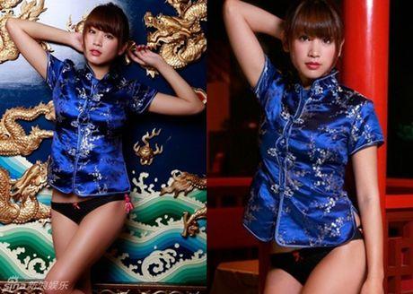 Hot girl Nhat dien ao truyen thong khoe noi y gay tranh cai - Anh 1