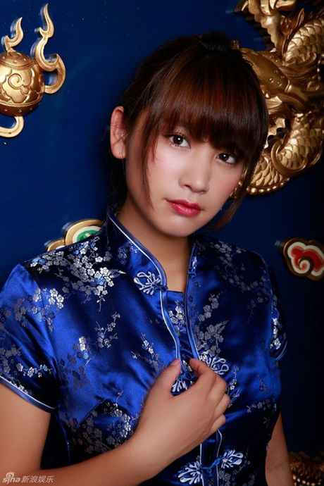 Hot girl Nhat dien ao truyen thong khoe noi y gay tranh cai - Anh 5