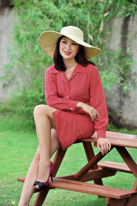 Top 4 my nhan U40,50 dep hon gai 18 cua showbiz Viet - Anh 11