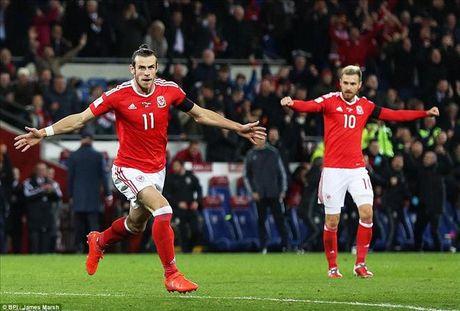 Gareth Bale ghi ban, xu Wales danh roi 2 diem quan trong truoc Serbia - Anh 2