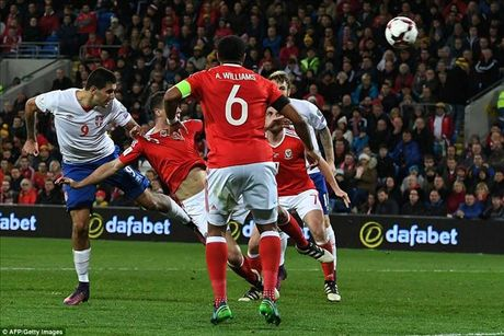 Gareth Bale ghi ban, xu Wales danh roi 2 diem quan trong truoc Serbia - Anh 3