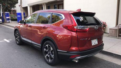 Honda CR-V 2017 lan dau lo anh hoan chinh - Anh 2