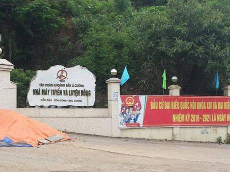Tiep bai; Son Dong (Bac Giang): Can canh dong song Cam Dan bi 'buc tu': Bo Tai nguyen va Moi truong chi ro nhieu sai pham cua Cong ty A Cuong! - Anh 1