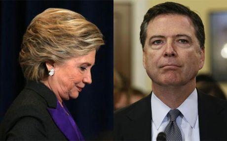 Thua Trump, Clinton do loi cho Giam doc FBI - Anh 1