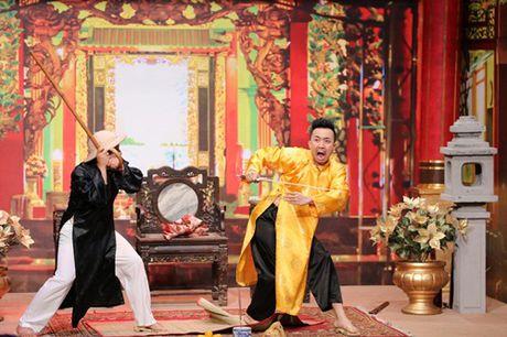 On gioi tap 2: Viet Trinh dung gay go phang vao dau Truong Giang - Anh 10
