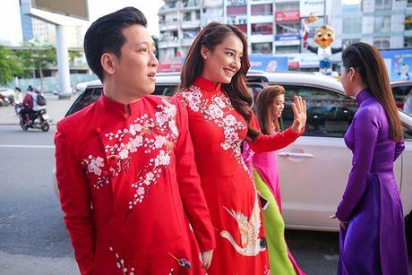 Nha Phuong khoe giong hat trong liveshow cua Truong Giang - Anh 1