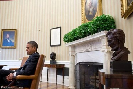 Nhin lai nhung khoanh khac an tuong cua tong thong Obama - Anh 14