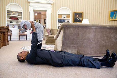 Nhin lai nhung khoanh khac an tuong cua tong thong Obama - Anh 1