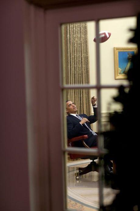 Nhin lai nhung khoanh khac an tuong cua tong thong Obama - Anh 6