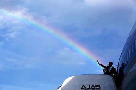 Nhin lai nhung khoanh khac an tuong cua tong thong Obama - Anh 8