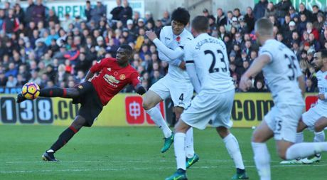 Mourinho, Deschamps khong qua mong Pogba tiep tuc ghi ban - Anh 1