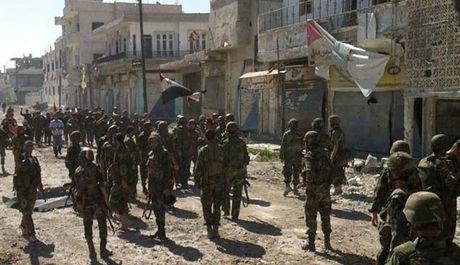 Quan doi Syria chuan bi mo chien dich tan cong mien Nam Aleppo - Anh 1