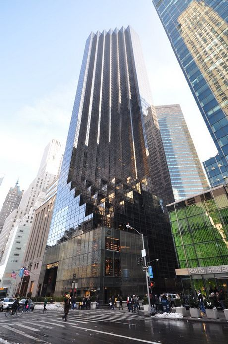 Kham pha toa Thap Trump noi nhu con o New York - Anh 1