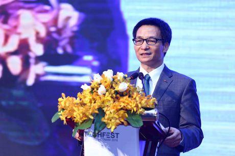 Techfest 2016: PTT Vu Duc Dam noi len tieng long cua cong dong startup - Anh 1