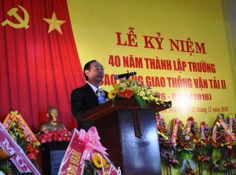 Ky niem 40 nam thanh lap truong Cao dang Giao thong van tai II - Anh 1
